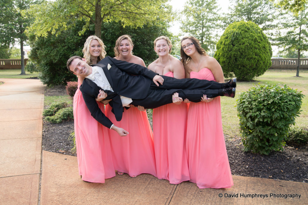Bridal Party wedding colors pink