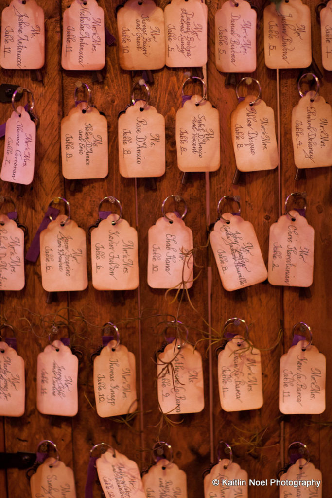Key Chain Place cards