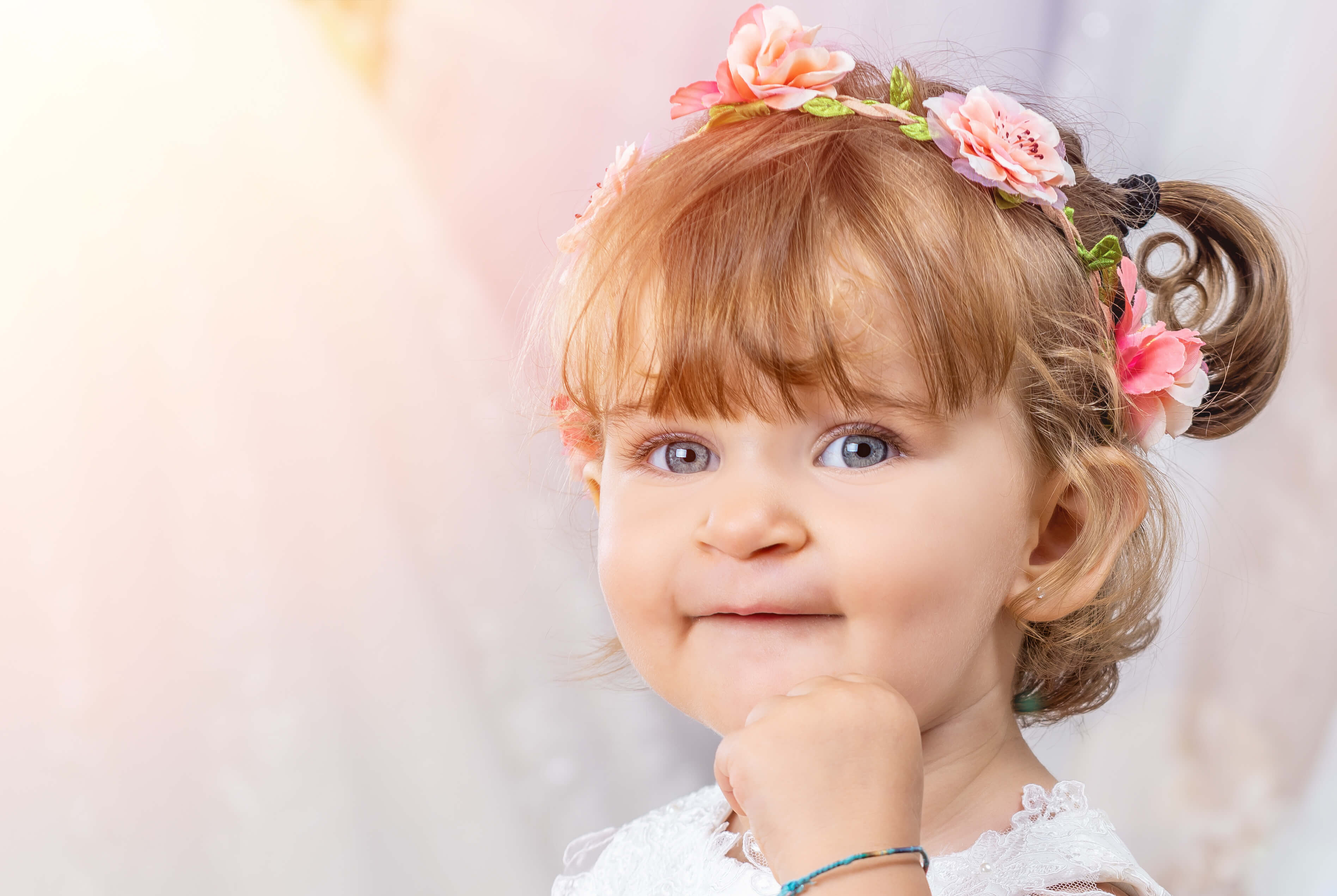 Flower Girl Hairstyle Ideas Fit For A Little Princess
